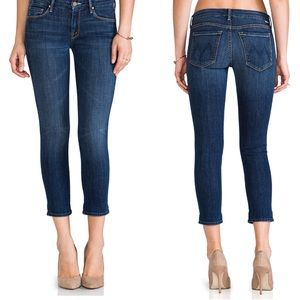Mother Cropped Looker Flowers from Storm jeans 25